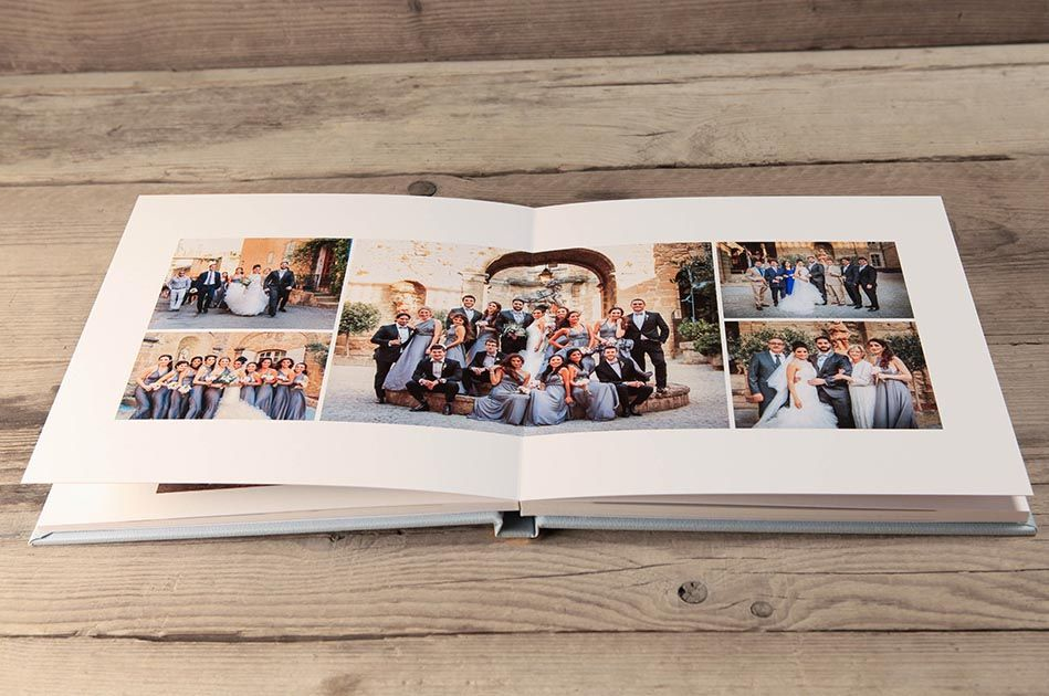 Wooden presentation box and USB for your wedding pictures