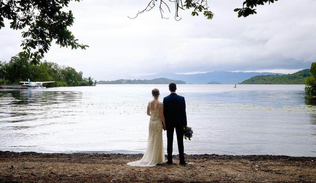 wedding photography in Glasgow & Argyll by Loch Lomond Photographer Ian Arthur