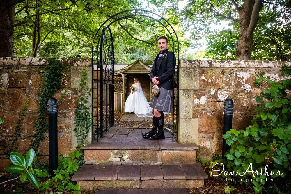 Edinburgh Cathedral & Savoy Park Hotel Ayr Wedding Photographer