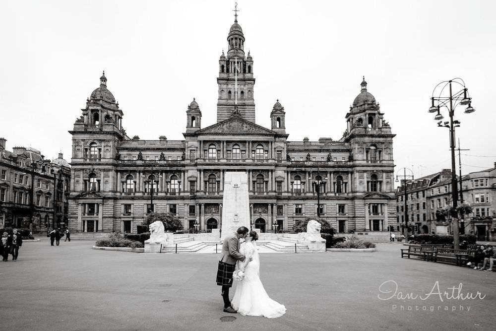 Glasgow Register Office & Hotel Indigo Wedding Photographer