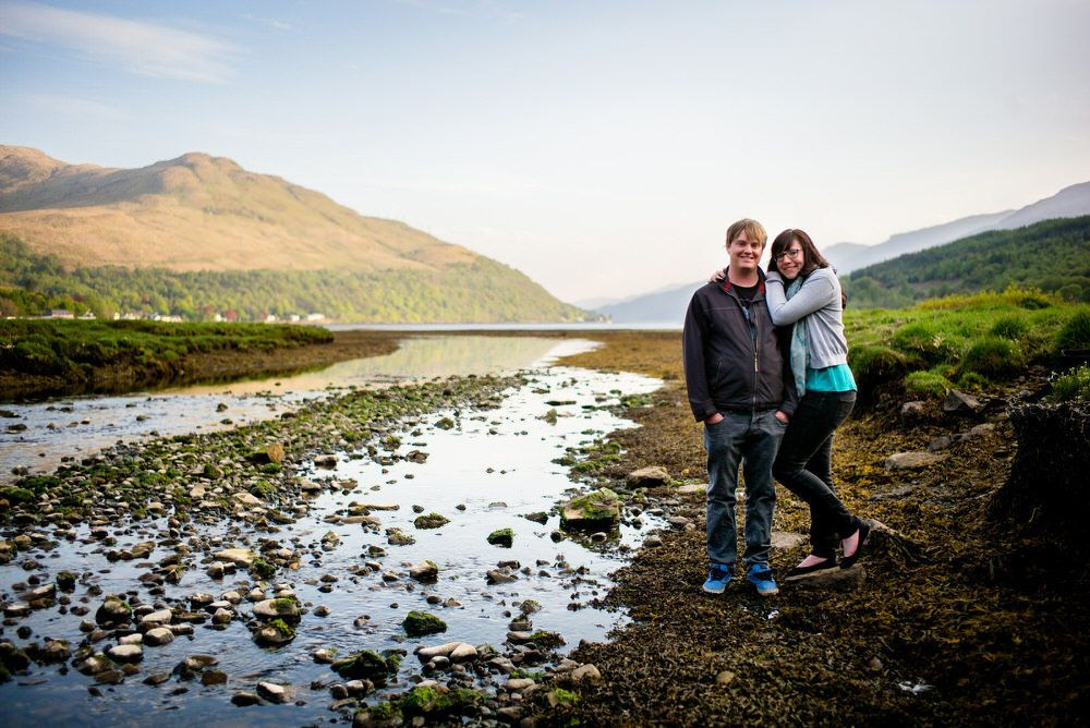 Portrait Photography by Glasgow & Loch Lomond photographer Ian Arthur