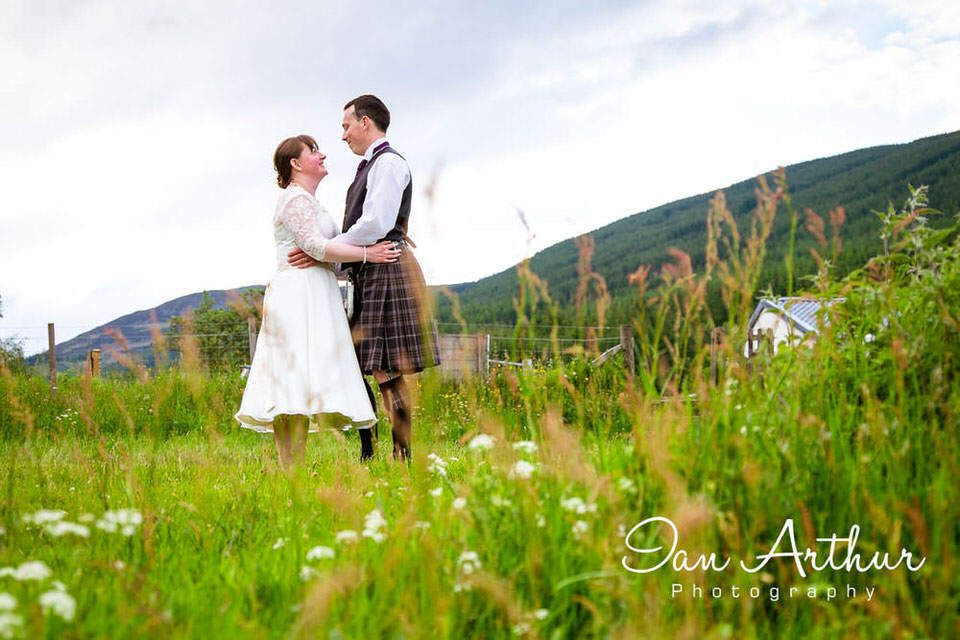 Aberfoyle & Kinlochard Wedding Photographer in Stirlingshire