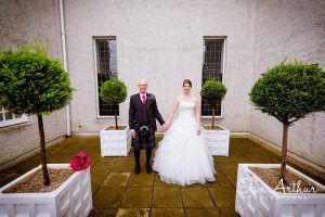 Elegant wedding photography by Glasgow Photographer Ian Arthur