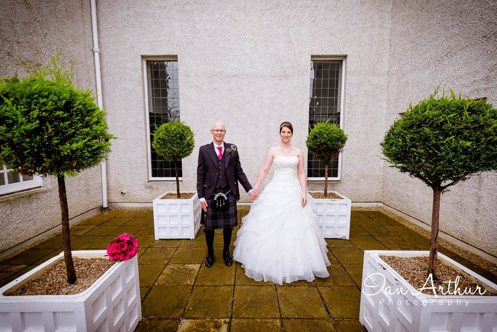 House for an Art Lover Wedding Photographer in Glasgow
