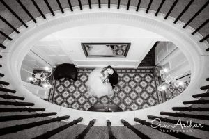 Elegant wedding photography by Glasgow Photographer Ian Arthur