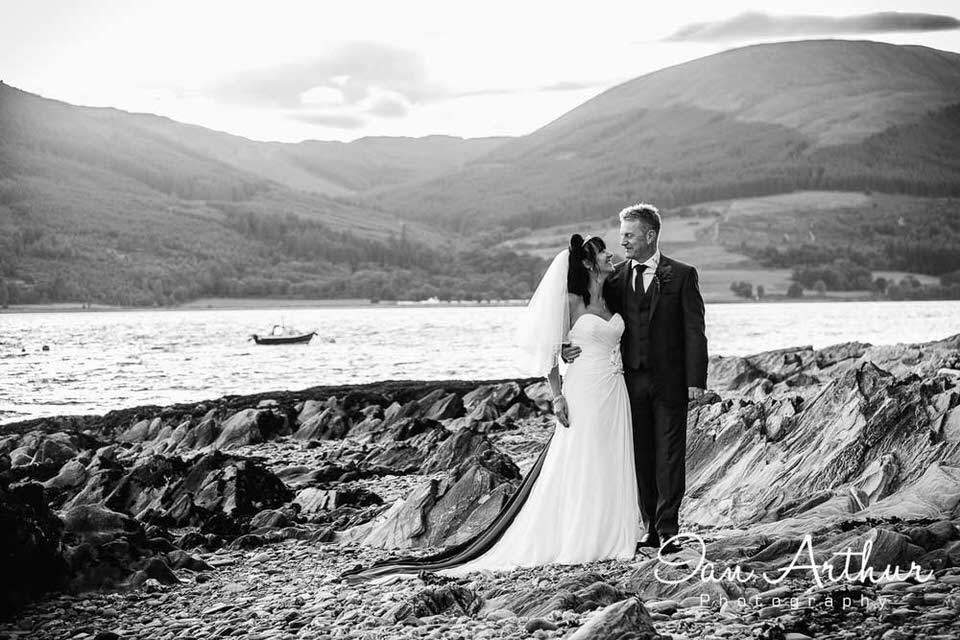 Knockderry House Wedding Photographer in Argyll
