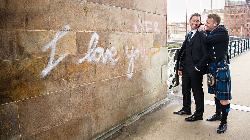 Glasgow Register Office & Glasgow University Chapel Wedding Photographer