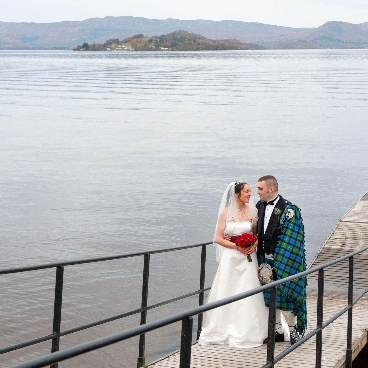 Laua and Alan's Wedding at the Cruin Loch Lomond