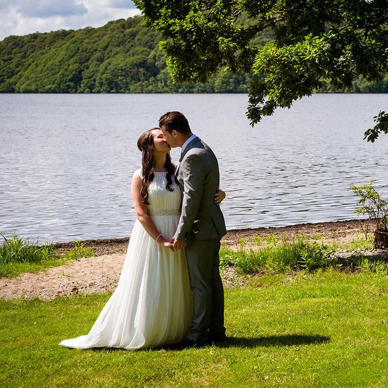 Laura and Liam's wedding at the Loch Lomond Waterfront
