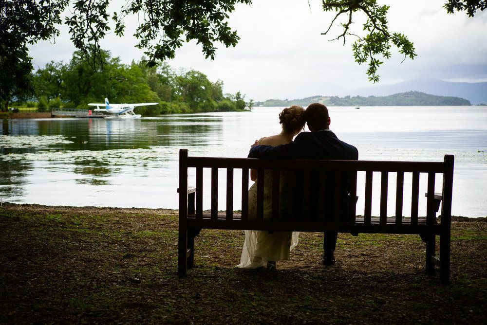 A Loch Lomond Wedding by Ian Arthur Wedding Photography