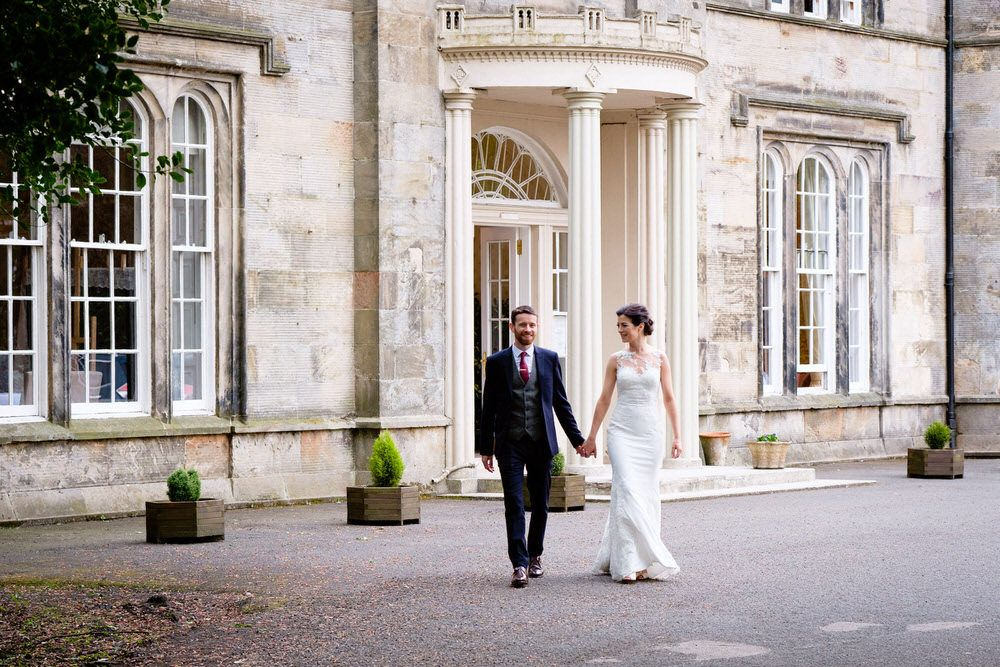 Glasgow wedding photographer at Kincaid House by Ian Arthur Wedding Photography