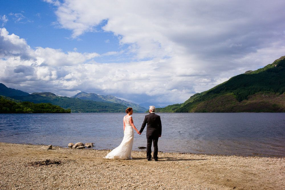 A sunny Stuckgowan House Wedding in Argyll – Donna & Stuart