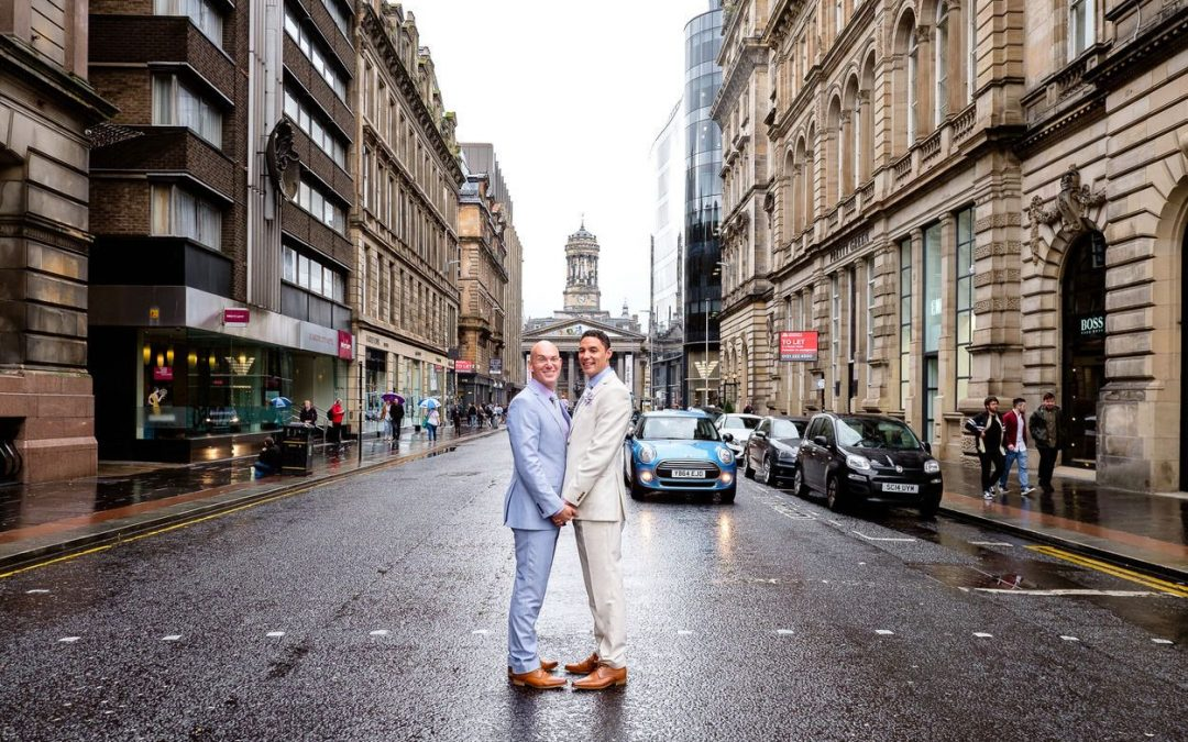 Corinthian Club Glasgow Wedding – Ralph & Jordan