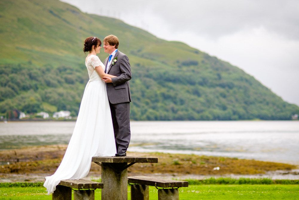 Ann & Jamie's Argyll Wedding Day in Arrochar
