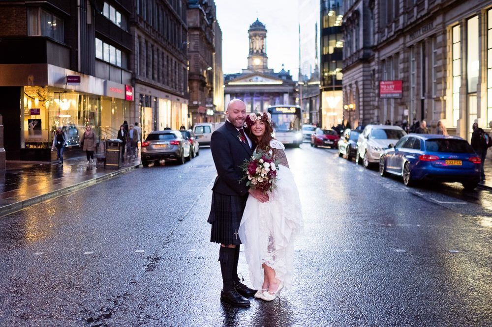 Corinthian Club Glasgow Wedding Photographer – Jennifer & Dominic