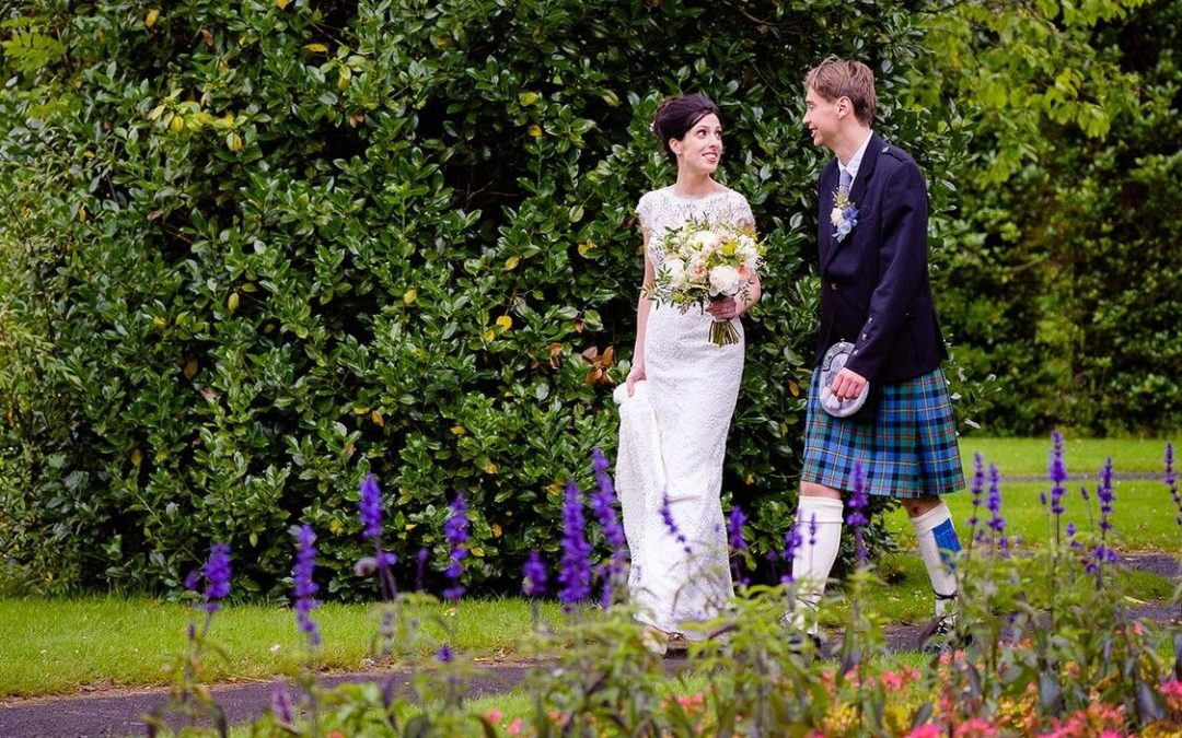 A wedding day at Sherbrooke Church and Pollokshields Burgh Hall