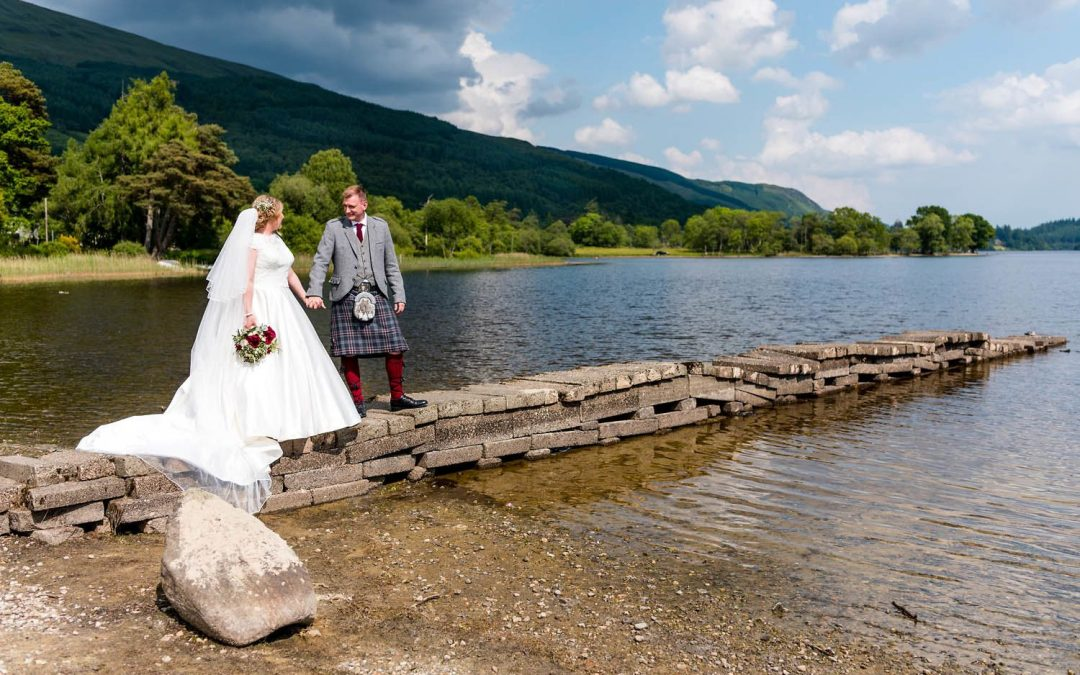 Kinlochard & Aberfoyle Wedding Photographer