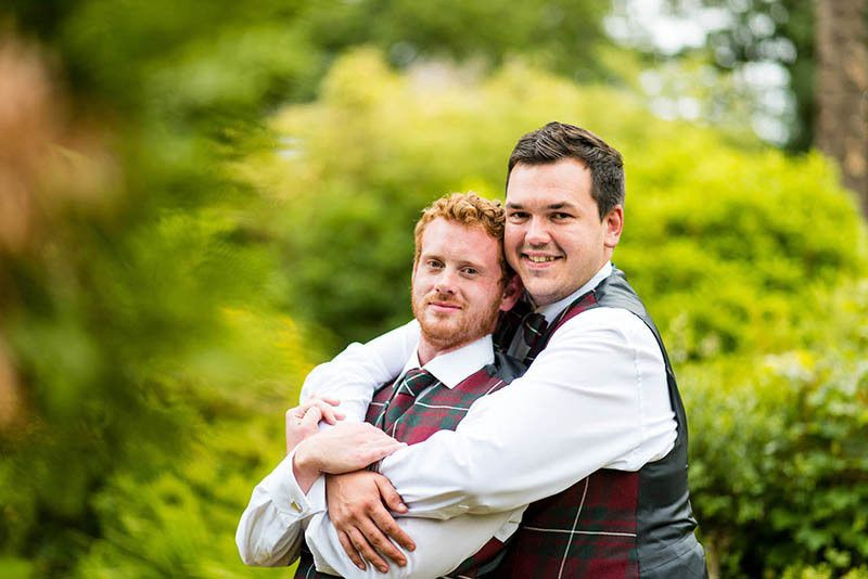 GLBT photography for weddings same sex weddings of all shapes and sizes in Glasgow, Argyll and Loch Lomond by Ian Arthur Wedding Photography