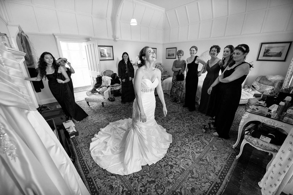 Capturing the moment by Ian Arthur, Glasgow wedding photographer
