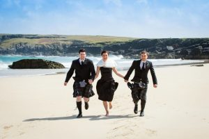 Capturing the moment at a wedding on the Isles of Lewis