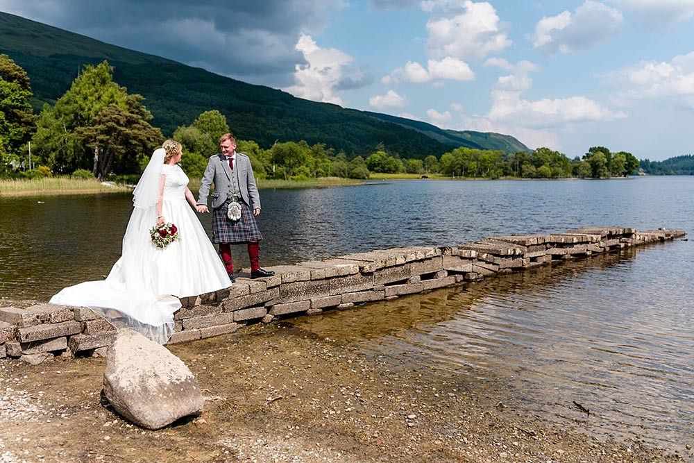 A beautiful summer wedding at Kinlochard & Aberfoyle in Stirlingshire