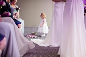 Don't you just love Flower Girls by Ian Arthur Wedding Photography