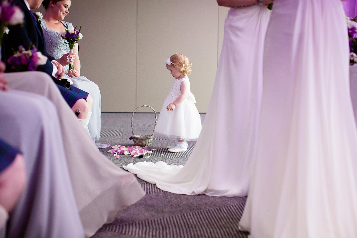 Don't you just love Flower Girls at Weddings….