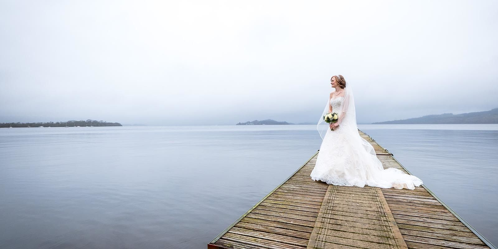 Natural and elegant wedding photography by Glasgow wedding photographer Ian Arthur