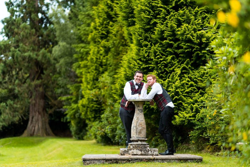 Kyle and Josephs Wedding Day at Hafton Castle by Ian Arthur Wedding Photography