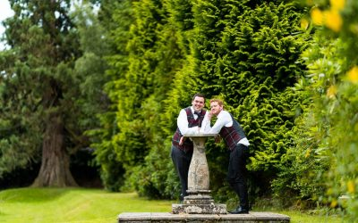 Kyle and Josephs Wedding Day at Hafton Castle