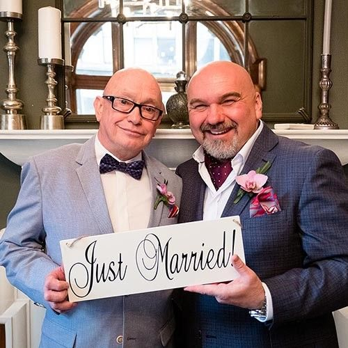 Same Sex GLBT Wedding Photography by Glasgow Photographer Ian Arthur