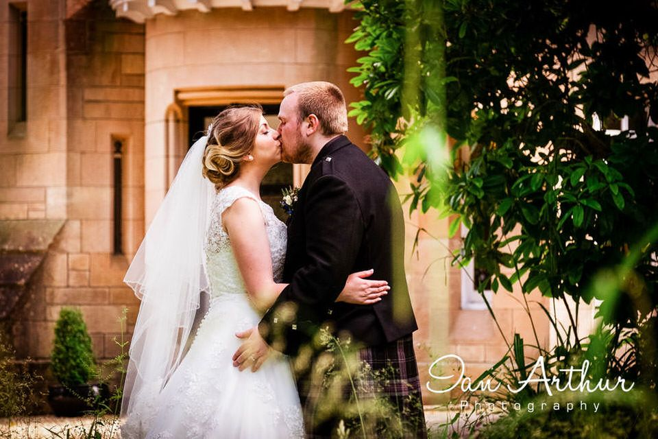 Dalnair Castle Lodge Wedding Photographer at Loch Lomond