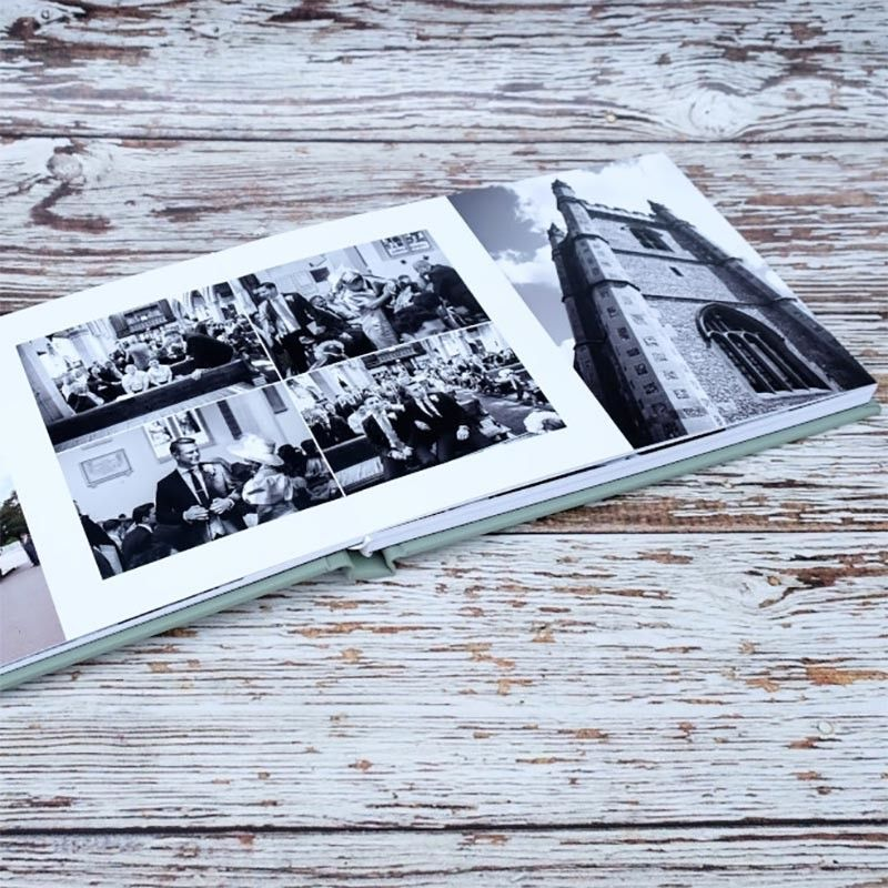 Bespoke wedding albums by Ian Arthur Photography
