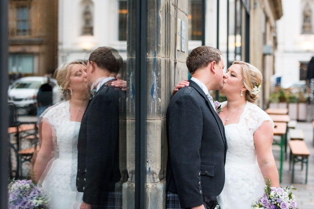 Karen and Mark's wedding in Glasgow