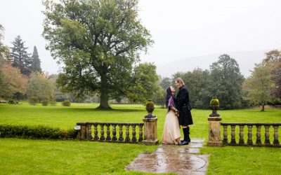 Katerin & Dennis have a Scottish Wedding at Culcreuch Castle