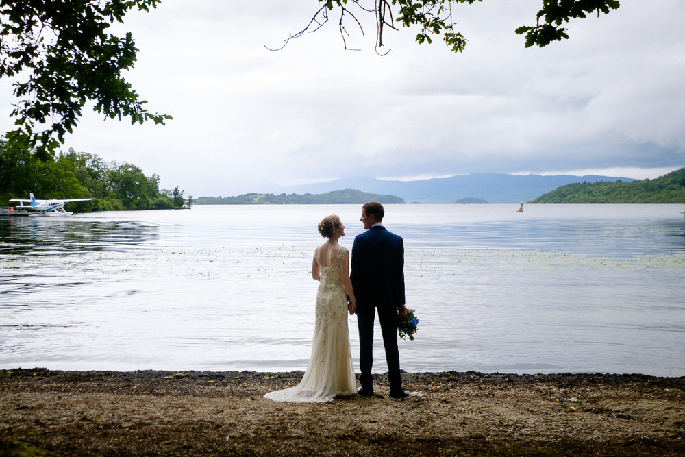 Alison & Jonathan's Cameron House Loch Lomond Wedding