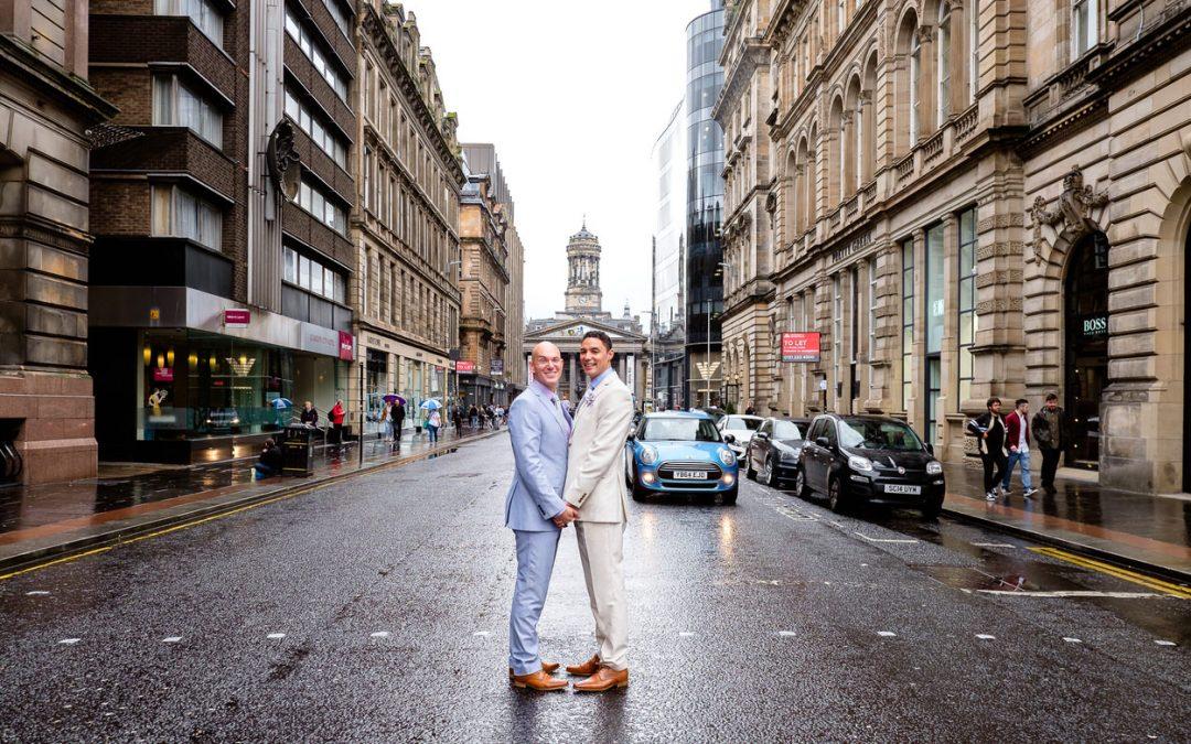 Corinthian Club Glasgow Wedding – Ralph & Jordan