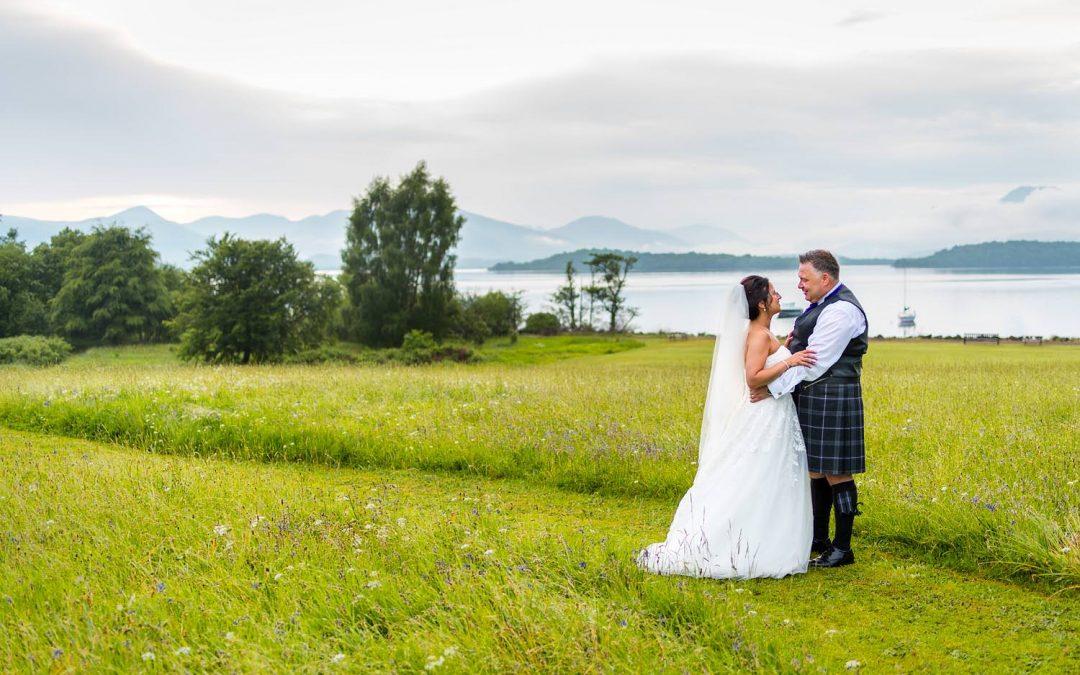 Jo & David's wedding at Ross Priory & Loch Lomond