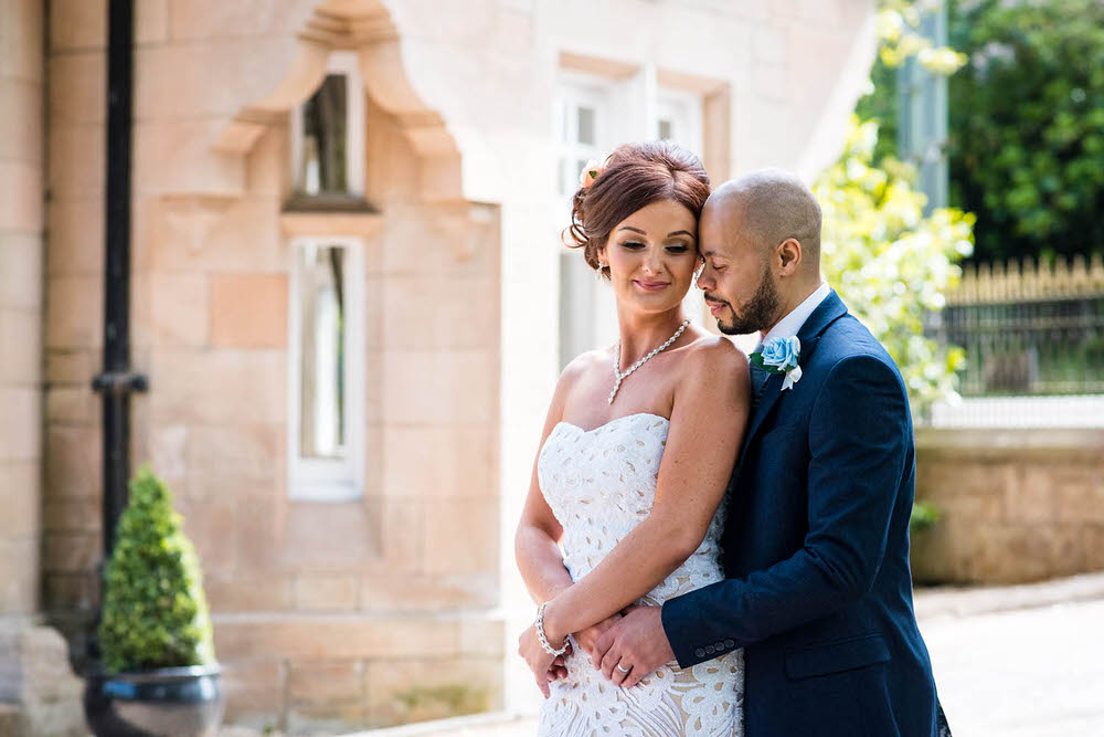 An Intimate Summer Wedding at Dalnair Castle Lodge in Stirlingshire