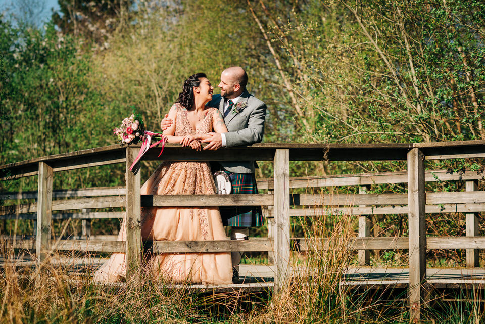 Crystal & Andrew's Wedding at The Loch Lomond SHORES