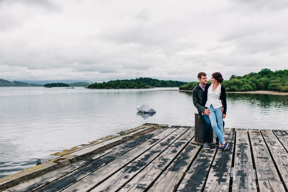 Rosalyn & Alan's pre-wedding Pictures at Loch Lomond