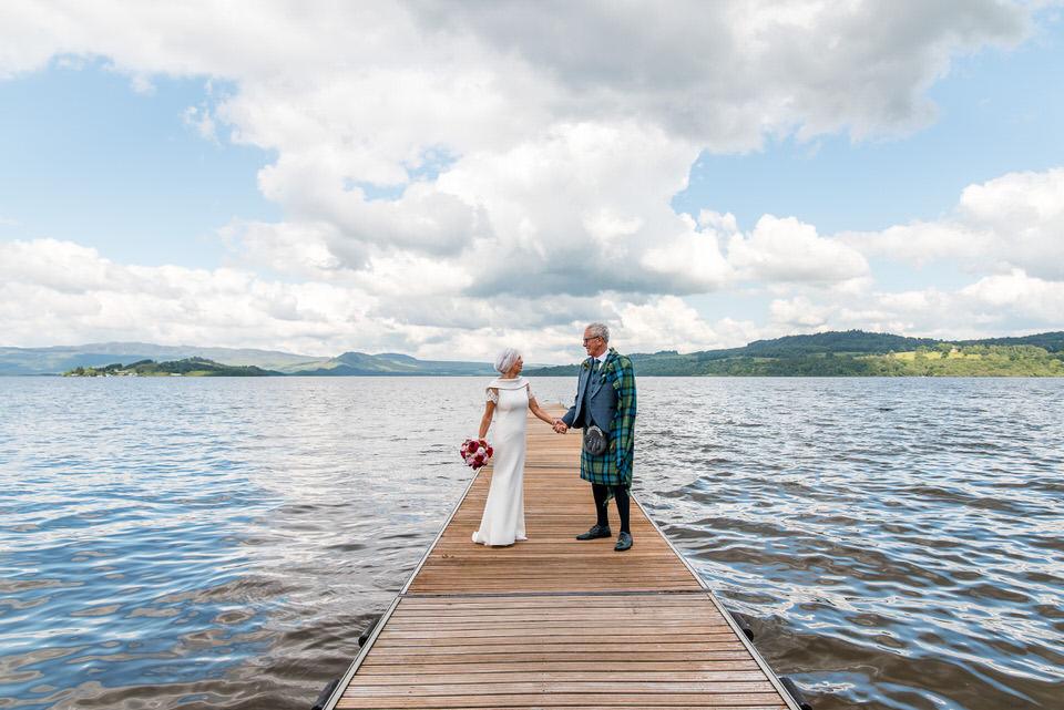 A Summer Wedding at the Cruin on Loch Lomond