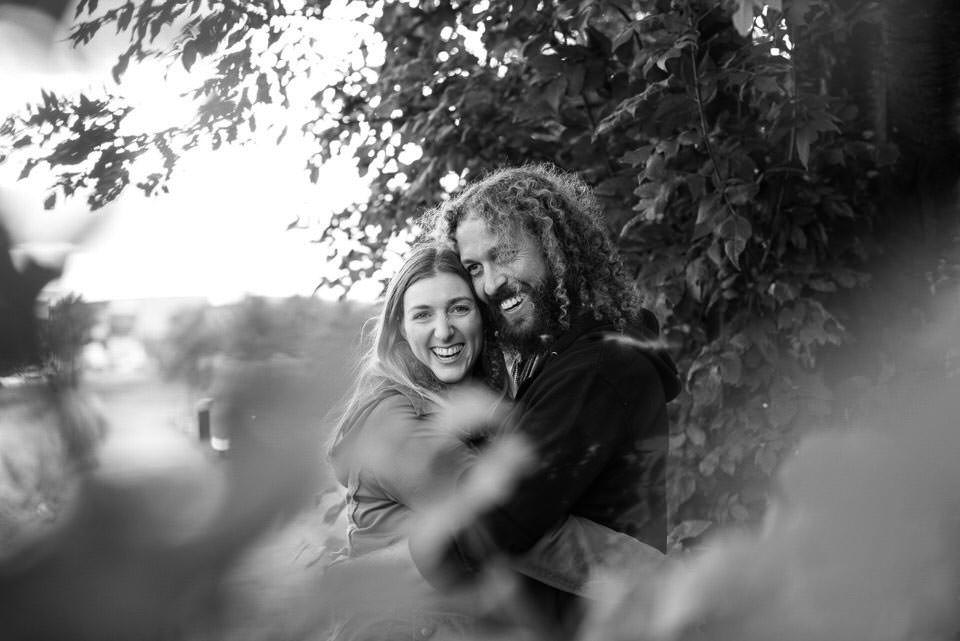 Kirsty & Huw's Pre-wedding Portrait Shoot in Glagsow