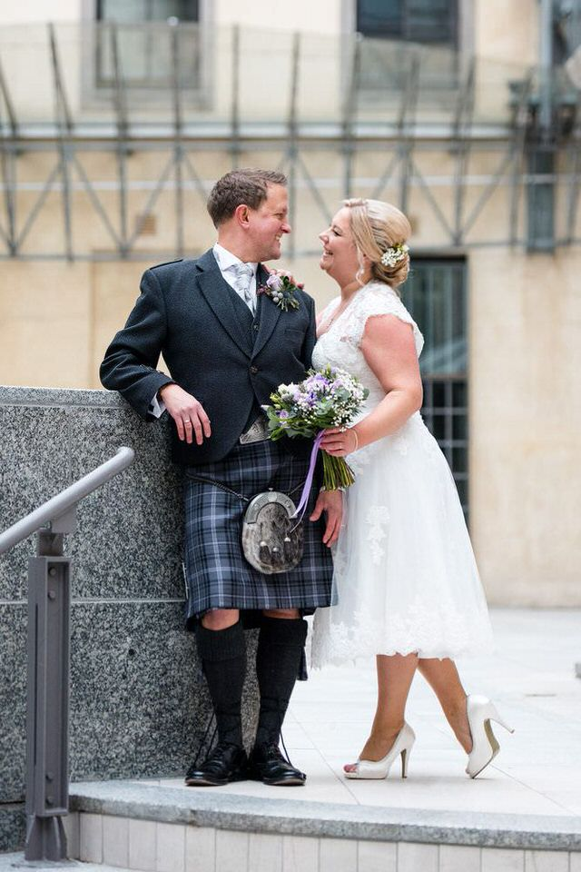 Elegant weddings in Glasgow & Scotland by Ian Arthur