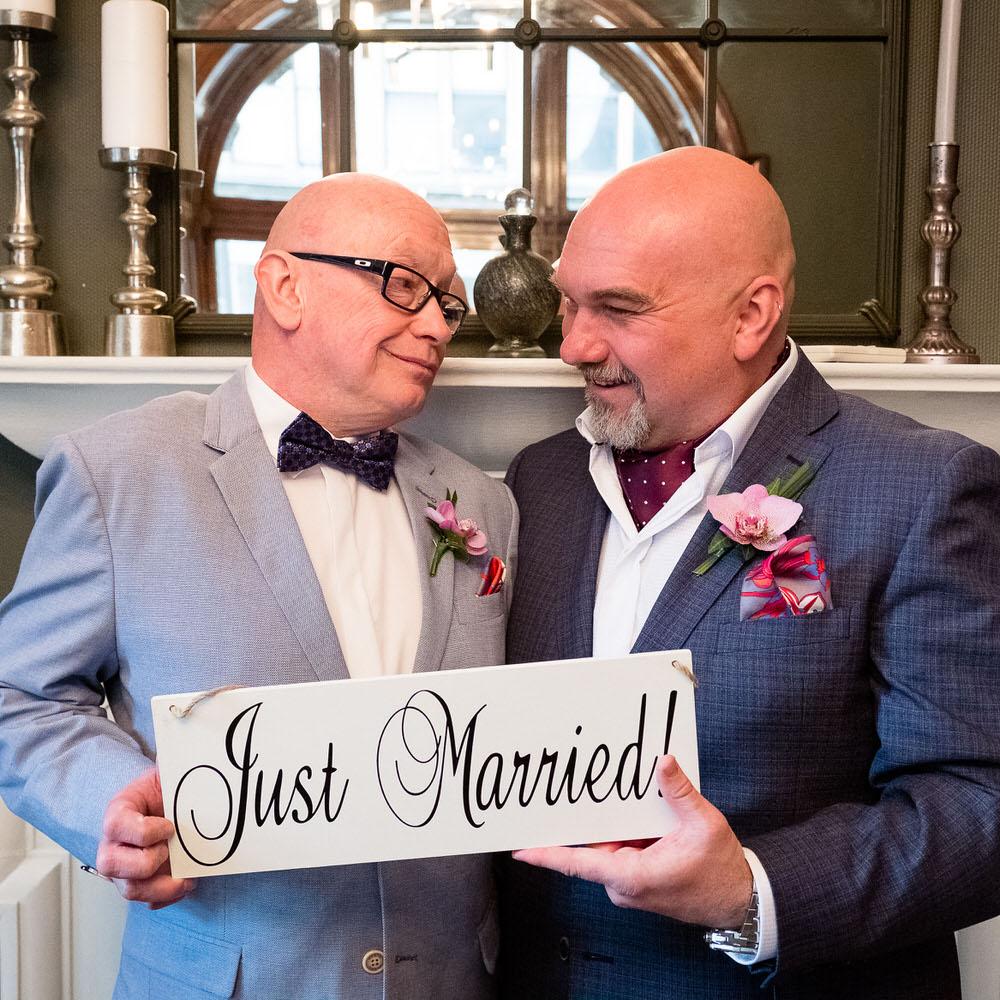 GLBT weddings in Glasgow & Argyll