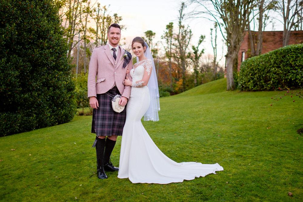 Mhairi & Joe's Sherbrooke Castle Wedding