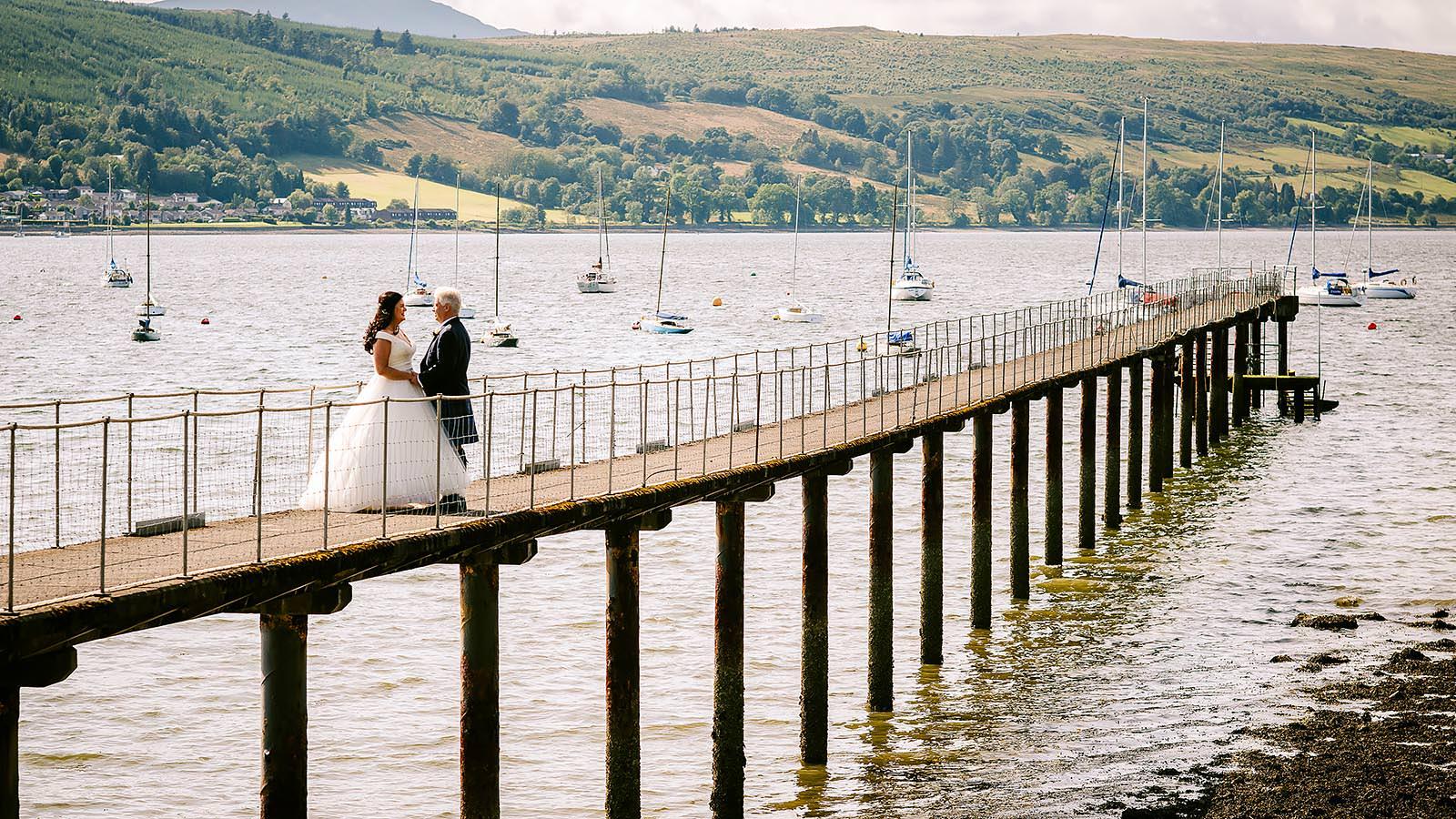Wedding Photography by Ian Arthur in Argyll, Loch Lomond, Glasgow and across Scotland