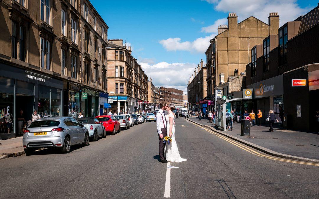A Glasgow Register Office Wedding & Bothy West End Reception
