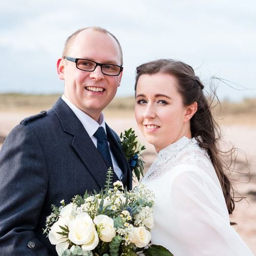 Eilid and Kyle's wedding in Ayrshire