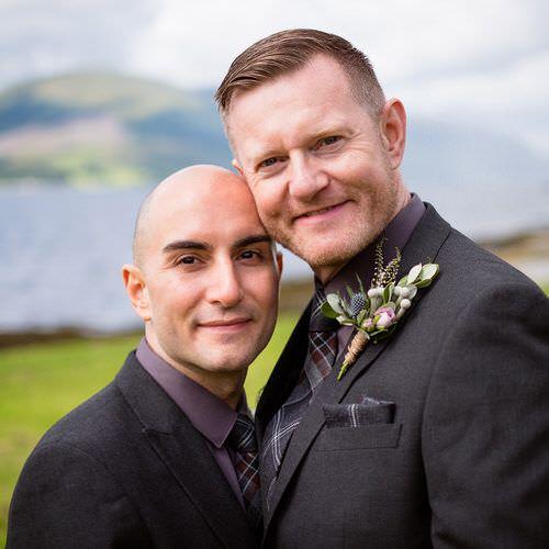 Lee & Simon's wedding in Argyll
